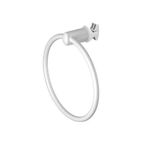 Handy Ring handdoekradiator - Handdoekstang, wordt rechtstreeks op de handdoekradiator bevestigd - Wit