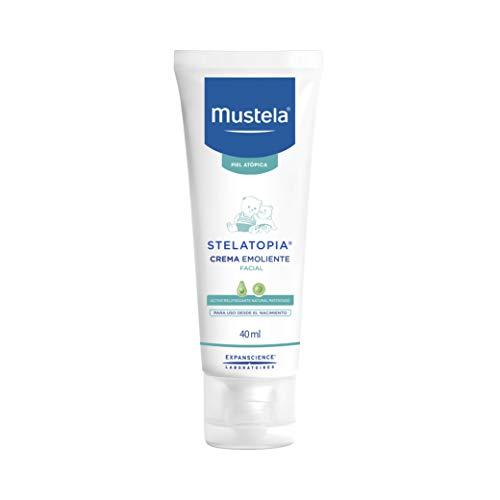 Mustela BF-3504105031572 Stelatopia Crema Emoliante Facial, 40 ml