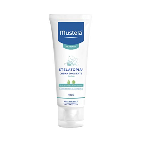 Mustela BF-3504105031572 Stelatopia Crema Emoliante Facial, 40 ml