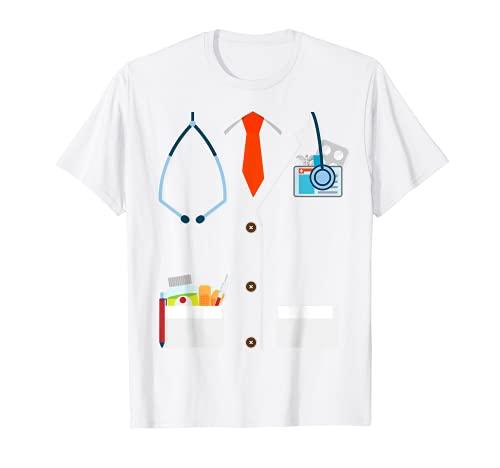 Disfraz Mdico Divertido Uniforme Doctor Hospital Carnaval Camiseta