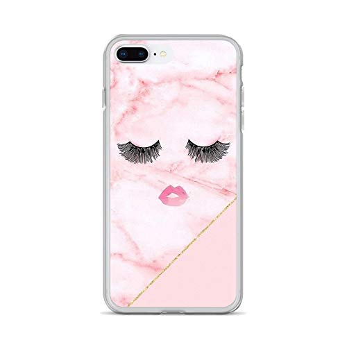 eyelash Pattern Girls Makeup Soft Cases Cover For iPhone iPod Touch 11 12 Pro 4 4S 5 5S SE 5C 6 6S 7 8 X XR XS Plus Max 2020-images 11-For iPhone SE 2020