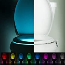 LightBowl Motion Activated Toilet Bowl Nightlight 8 Vibrant Colors