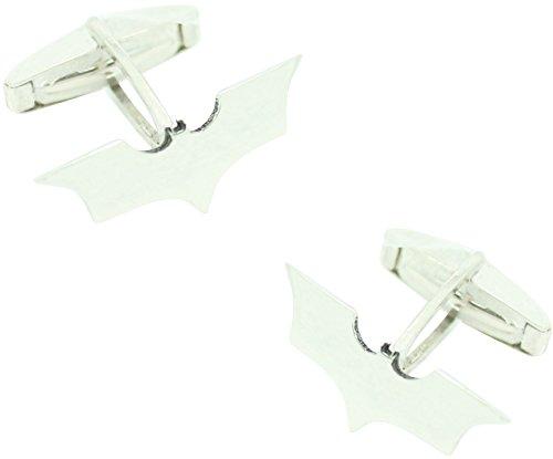 MasGemelos Manschettenknöpfe in Form von Batman 3D, 925er Sterling Silber