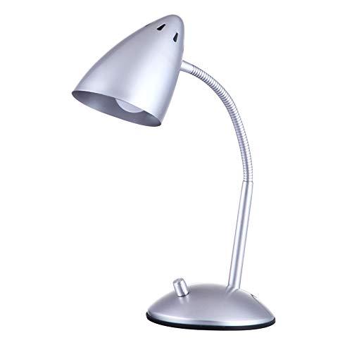 LED Schreibtischlampe Leselampe Metall Tageslichtlampe,Farbtemperaturen–5500K-6000K,berührungsempfindlich Tischlampe,Augenschutz Flexible Nachttischlampe für das Lesen,Arbeiten und Studieren 20W