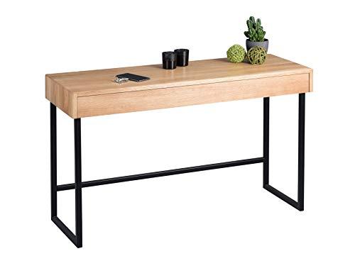 HomeTrends4You Fox Schreibtisch/Konsole/Diele, Holz, Länge 120cm, Breite 42cm, Höhe 75cm