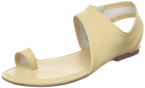 MaxStudio Women's Tropic Sandal, Camel, 10 M US