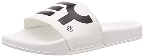 Oakley Sandalias B1B Slide para hombre, blanco (Blanco), 41.5 EU