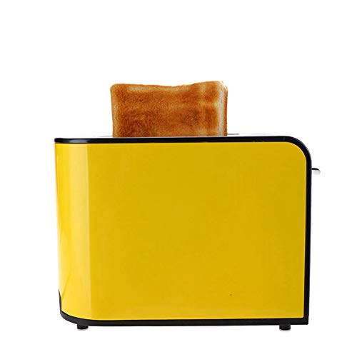 CCHM Tostador tostadora 2 Piezas de Acero Inoxidable hogar automático Tostador Mini 6 Engranajes