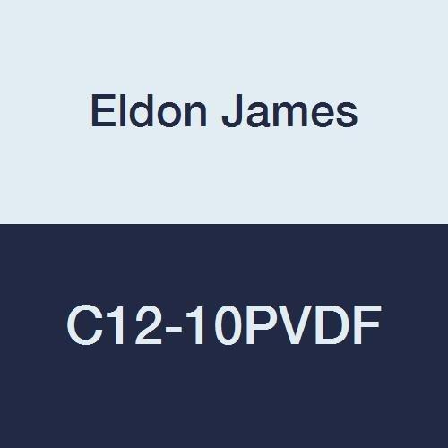 Eldon James C12-10PVDF Industrial Reduction Coupler Gray 2021 autumn and winter new Kynar Ranking TOP11