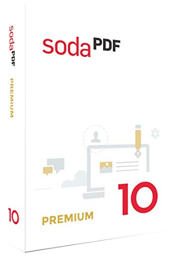 Soda PDF 10 Premium|10 Premium|1 PC|-|PC, Laptop|Disc|Disc