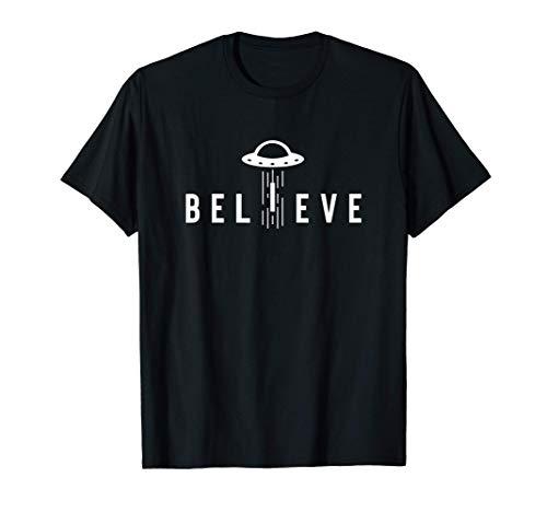Alien Abduction Gifts For Men Women Kids UFO Lovers Believe T-Shirt