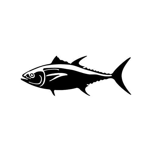 PUBSKFKJ 15.3Cm*5.6Cm Bluefin Tuna Vinyl Decal Car Window Car Sticker Striper Fishing Fish-A