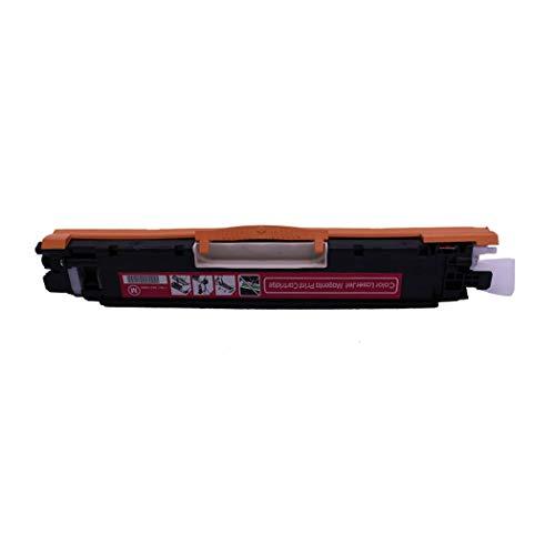 Para HPPLC-H126A Cartucho de tóner compatible con el color HPHP Laserjet Procp1021 / CP1022 / CP1023 / CP1025 / Cp1025nw / Cp1026nw Cartucho de tóner para impresora, listo para usar,Rojo