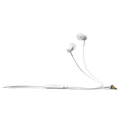Original Sony Headset MH-750 für Sony Xperia Z3 / Z3 + (Plus) Kopfhörer Ohrhörer in weiß mit Anrufannahmeknopf An-Aus In Ear Ohrstöpsel