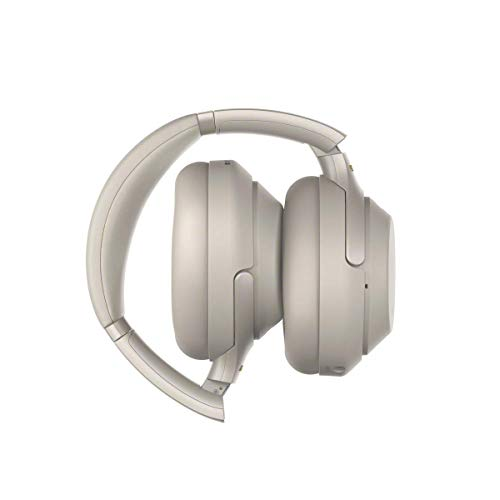 Sony WH-1000XM3 Bluetooth Noise Cancelling Kopfhörer (30h Akku, Touch Sensor, Headphones Connect App, Schnellladefunktion, Amazon Alexa) silber