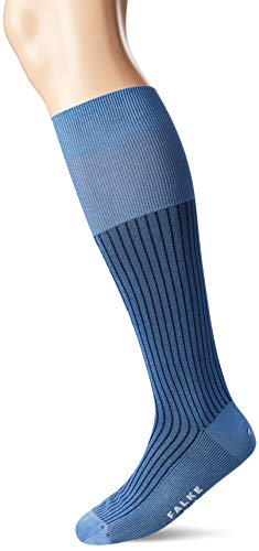 FALKE Herren Oxford Stripe Socken, lila (plum 6845), 41-42