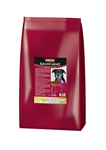 animonda GranCarno Hundefutter Senior, Trockenfutter für ältere Hunde ab 7 Jahren, 12,5 kg