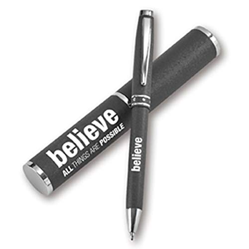 BELIEVE all things are possible - Kugelschreiber in Etui (schwarz)