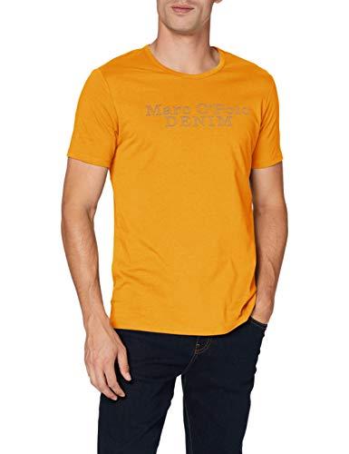 Marc O´Polo Denim Herren 066232351042 T-Shirt, Gelb (Fresh Mango 210), Large (Herstellergröße: L)