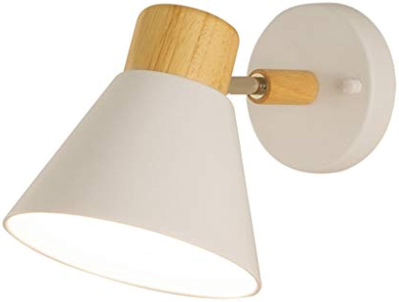 LED Wandleuchte, Scheinwerfer Bett Gang Lesen Kinderzimmer Einfach Persnlichkeit Kreativ Lampe (Farbe   A-Weiß-Gewhnliche)