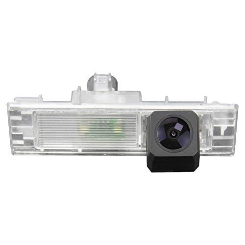 Telecamera di retromarcia aggiornata 1280x720p integrata in luce targa licenza retrovisione telecamera di backup per BMW Serie 1 M1 F20 F21 135i 116i 118i 120i 135i 2015-2018