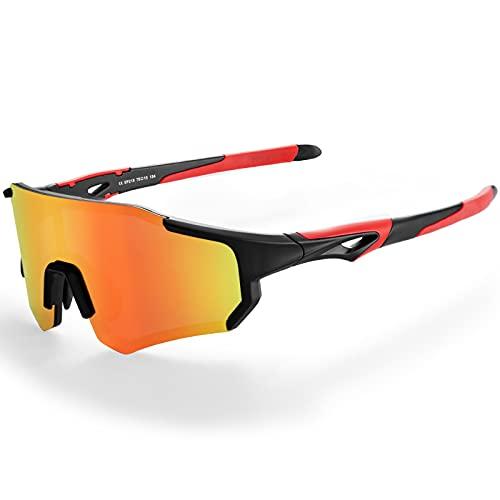 ROCKBROS Gafas de Sol Fotocromáticas/Polarizadas de Ciclismo Bicicleta Montaña Carretera MTB Protección UV400 Unisex Running Pesca Conducción