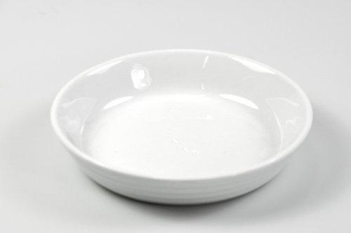 Küchenprofi 0750918215 ramequins à crème brûlée Bourgogne, Porcelaine, Blanc
