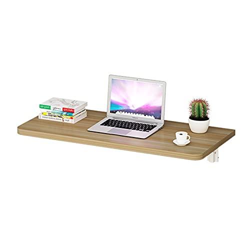 Escritorio plegable de la pared de la pared del escritorio de la pared Doblar la dureza fuerte no se deforma fácilmente la mesa de comedor que cuelga en la pared utilizada para el escritorio de la coc