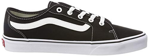 Vans Damen WM Filmore Decon Sneaker, Schwarz ((Canvas) Black/True White 1wx), 38.5 EU
