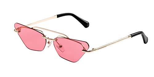 HAWKERS · PAPARAZZI · Gold · Ligth Red · Gafas de sol para mujer