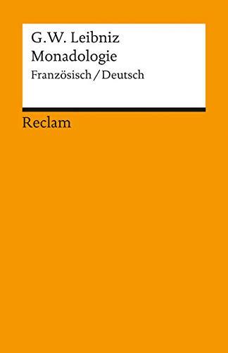 Monadologie: Französisch/Deutsch (Reclams Universal-Bibliothek)