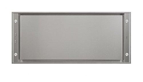 Novy 6840 Dunstabzugshaube, Edelstahl, 1080 m³/h, Umluft, 46 dB, 50 dB, 56 dB, 64 dB)