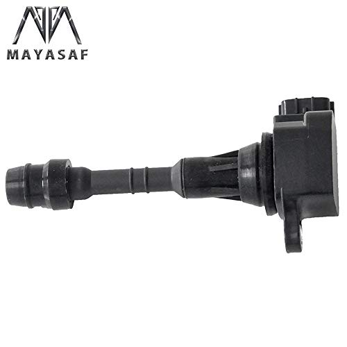 Price comparison product image MAYASAF UF349 [Pack of 1] Ignition Coil for Nissan Altima / 350Z / Frontier / Maxima / Murano / Pathfinder / Quest / Xterra / Armada,  Infiniti I35 QX4 UF349 C1406 5C1403