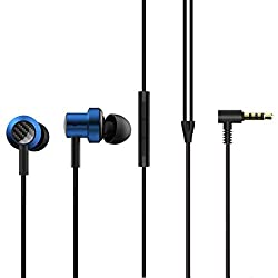 Mi Dual Driver in-Ear Earphones with Mic, Crisp Vocals & Rich Bass, Tangle-Free Cable, One Touch Voice Assistant (Blue),Kangyin Electronic Technology,25083