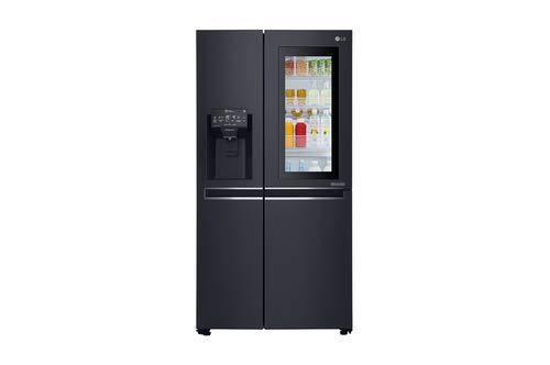 LG GSX960MCVZ Kühlschrank mit Seitentür, Schwarz, 601 l, A++