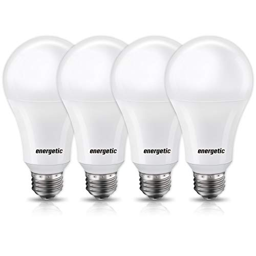 Dimmable A21 LED Bulb, 150 Watt Equivalent, Warm White 3000K, 2600LM, UL Listed, E26 Standard Base, Damp Rated, Super Bright Light Bulbs, 4 Pack