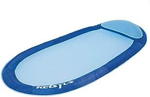 Kelsyus 80032 Floating Hammock Inflatable Swimming Pool Float Lounger, Blue