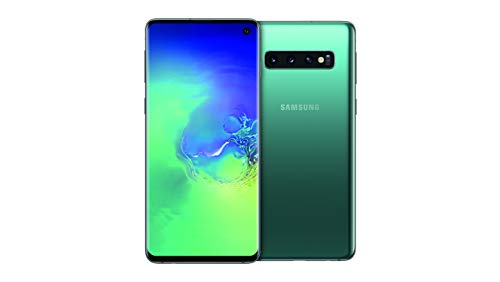 Samsung Galaxy S10 Smartphone, 128GB, Display 6.1', Dual SIM, Verde (Prism Green) [Altra Versione Europea]