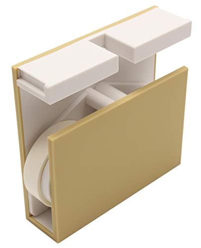 カモ井加工紙 mt マスキングテープ テープカッター ツインズ アイボリー×ホワイト