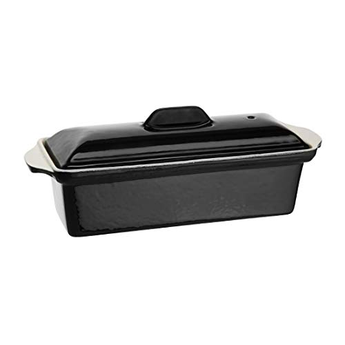 Vogue u559 Pate Terrine, schwarz