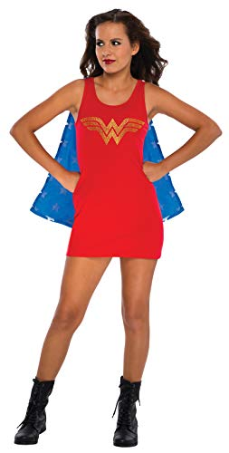 WONDER WOMAN DC Comics Tank Dress Teen Costume Small