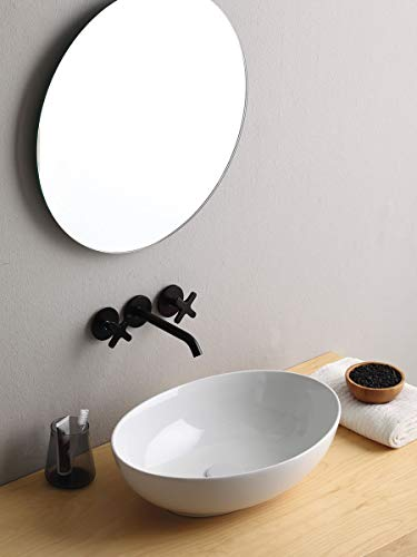 Mini Softly Waschbecken Bagno Oval cm 48