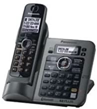 Panasonic KX-TG7641M DECT 6.0 Link-to-Cell via Bluetooth Cordless Phone with Answering System