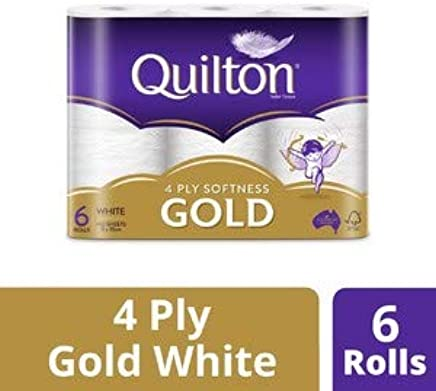Quilton 4 Ply White Gold Toilet Paper