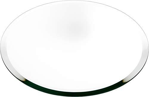 Plymor Round 5mm Beveled Glass Mirror, 12 inch x 12 inch