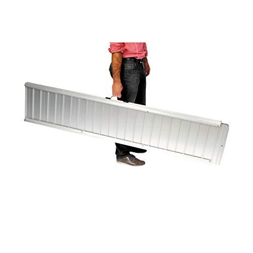 Rampe Pliable pour Fauteuil Roulant ou Déambulateur - Facilite...