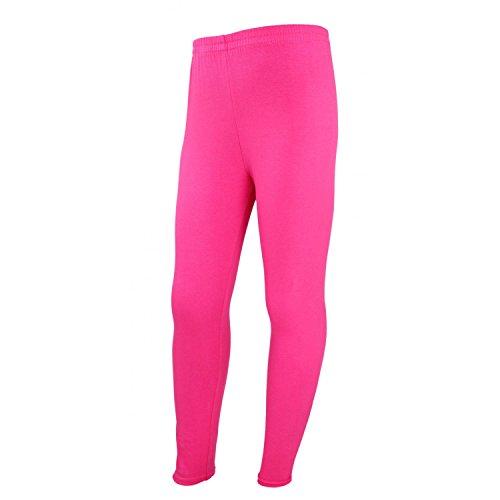TupTam Mädchen Lange Leggins Blickdicht, Farbe: Pink, Größe: 152