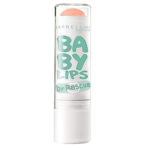 Maybelline New York Baby Lips Dr. Rescue Medicated Lip Balm, Coral Crave [55] 0.15 oz (Pack of 3)