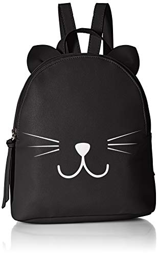 T-Shirt & Jeans Cat Backpack - Black