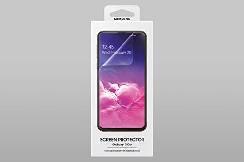 Samsung ET-FG970CTEGWW Pellicole Protettive Display per S10 E, Trasparente